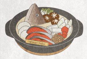 北海道を代表する郷土料理の石狩鍋